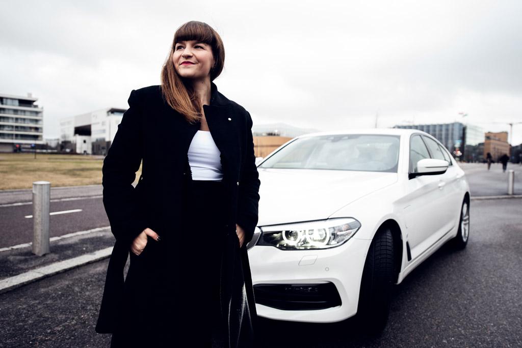 Tytti Strand hankki Yksityisleasing-auton.