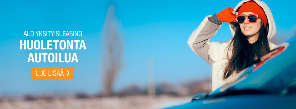 ALD Yksityisleasing - Huoletonta autoilua